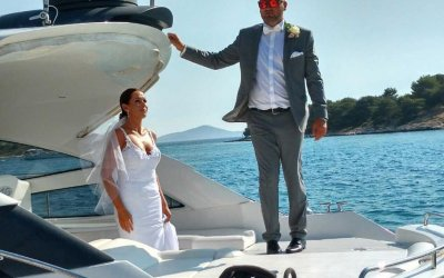 yacht wedding croatia